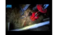 Joints Couplings - Strapless Core Drilling 10 VCP with 8 Tap N Tee Install Video