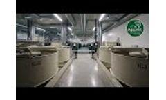 40t Indoor Recirculating Aquaculture System (RAS) - Video
