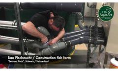 FTN AquaArt - Facility Construction Fish Farm Seeland Fisch - Video
