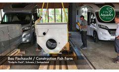 FTN AquaArt - Facility Construction Fish Farm Enderlin Fisch - Video
