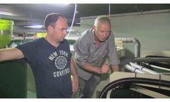 Pilot Plant of Fish Farm Technology in Prague - Video