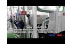 Supplying of Two Water Cooled Turbocor Chillers - Video