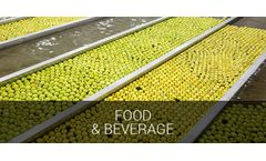 Process cooling and industrial comfort applications solutions for food and beverage industry