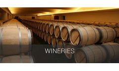 Process cooling and industrial comfort applications solutions for wineries industry