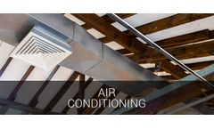 Process cooling and industrial comfort applications solutions for air conditioning industry