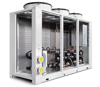 Hitema - Model CFT Series - Air-Cooled Liquid Chillers with Axial Fan for Air Conditioning