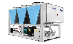 Hitema - Model ISV Series - Air-Cooled Liquid Chillers With Axial Fans Cooling Capacity Range 300kW ÷ 1390kW