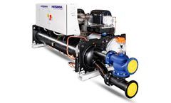 Hitema - Model TFW Series - Water Cooled Chillers with Turbocor Compressors Cooling Capacity Range 250kW - 3000kW