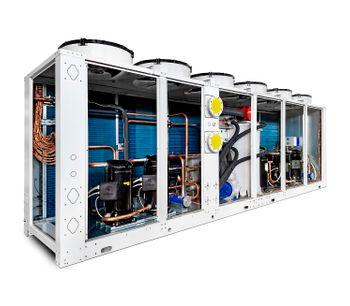 Hitema - Model HFT Series - Air-Cooled Reversible Heat Pump Heating Capacities: 16kW - 345kW