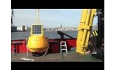 Deployment of EIVA ToughBoy Panchax Wave Buoy Video