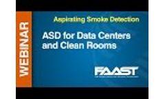 ASP - FAAST -- Webinar: ASD for Data Centers & Clean Rooms Video