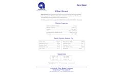 Anthracite - Filter Gravel Media Brochure