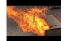 Work Pellet Burner Air Pellet Ceramic 300 kW Video
