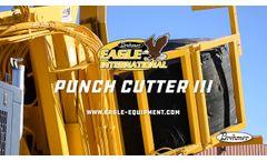 Eagle International Punch Cutter III - Video
