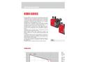 Riello - Model RDBS1 - 960 T / 3768000 - One Stage Gas Burners Brochure