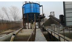 Design of high efficiency sludge thickening tank