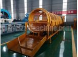 Rotary sand gravel sieving machine working principle