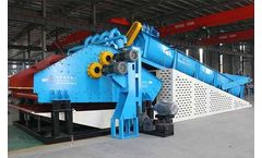 Construction waste recycling and reuse system