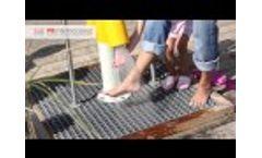 Beach Feet Shower Video