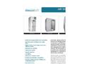 Clean Air - Model CAP701KD-ST - Standard-Profile Straight-Through Air Shower Brochure