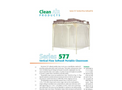 Clean Air - Model CAP577F - Vertical Flow Softwall Portable Cleanroom Brochure
