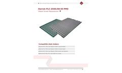 Derrick - Model FLC - SJ-PMD - 2000 - Shale Shaker Replacement Screens Brochure