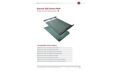 Derrick - Model FLC 500 - Flat Shaker Replacement Screens Brochure