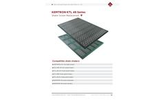 Kemtron - Model SJ-KTL-48 - Replacement Shaker Screen Brochure