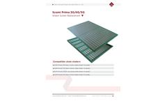 Scomi - Model SJ-SG - Steel Frame Shaker Screen Brochure