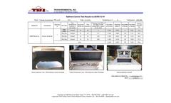 Sediment Control Test Results via ASTM D 5141