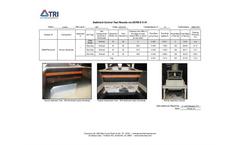 Sediment Control Test Results via ASTM D 5141 - Brochure
