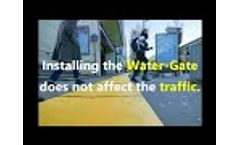 MegaSecur Flood Protection Dam / So Simple, So water Gate Video