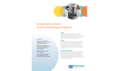 ImageXpress - Model Nano - Automated Imaging System Brochure