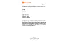 Generon Veryfinder - Model PMA99A-50 - Total Meat Assay Tests Kit Brochure