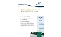 NucleoCounter - Model YC-100 - Yeast Cell Count Brochure