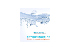 Eco Smart - Greywater Recycle System Brochure