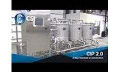 CIP 2.0 System Offers Advanced Clean-In-Place Technology Video