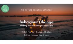 Behaviour Change: Making Sustainability Accessible