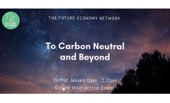 To Carbon Neutral and Beyond