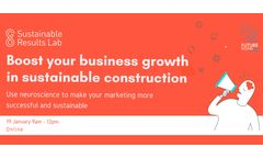 Boost your Business Growth in Sustainable Construction