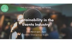 Sustainability in the Events Industry