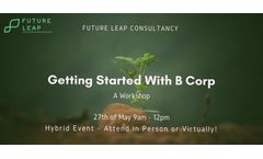 Getting Started with B Corp (Workshop)