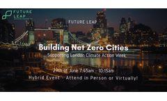 Building Net Zero Cities