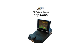 OKM - Model eXp 6000 - Wireless 3d Metal Detector and Ground Scanner Manual
