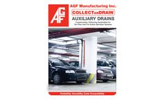 COLLECTanDRAIN Auxiliary Drains - Brochure