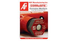 CORRinSITE Corrosion Monitors In-Line Pipe and Mechanical Tee - Brochure