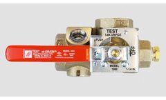 AGF - Model TESTanDRAIN 1000 - Inspector`s Test and Drain Valve