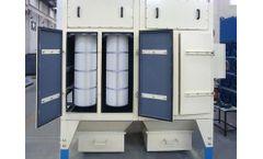 ZONEL FILTECH - Model ZF/DC/V - Vertical Cartridge Dust Collectors