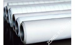 ZONEL FILTECH - PET Woven Filter Cloth