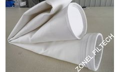 ZONEL FILTECH - Model PET - Polyester Needle Felt and Filter Bags for Dust Collector Systems